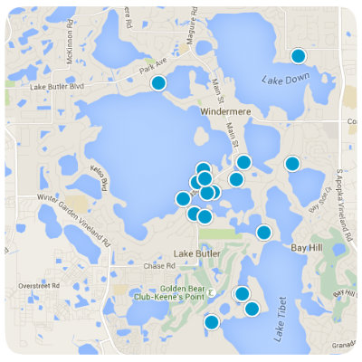 Windermere map home search