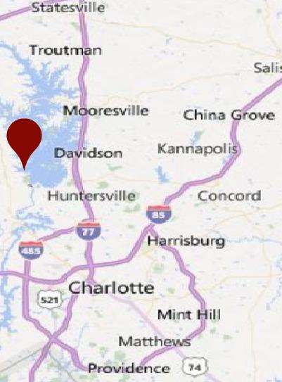 TERRELL NC MAP