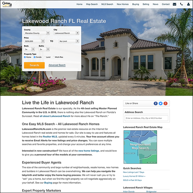 Lakewood Ranch Real Estate