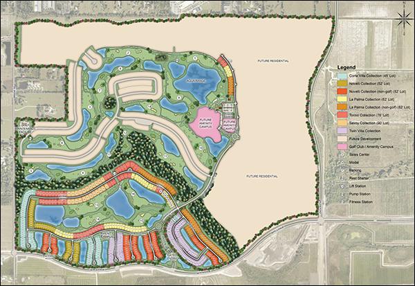 Esplanade at Azario Site Plan