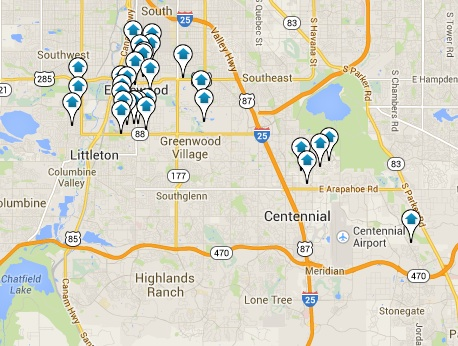 Englewood Homes for Sale Map Search Results