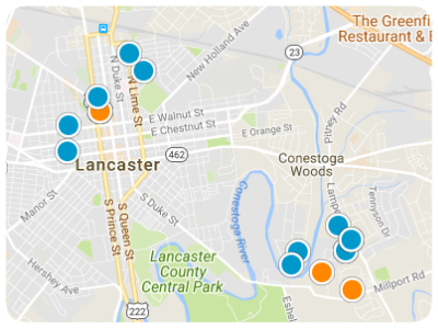 Lancaster Real Estate Map Search