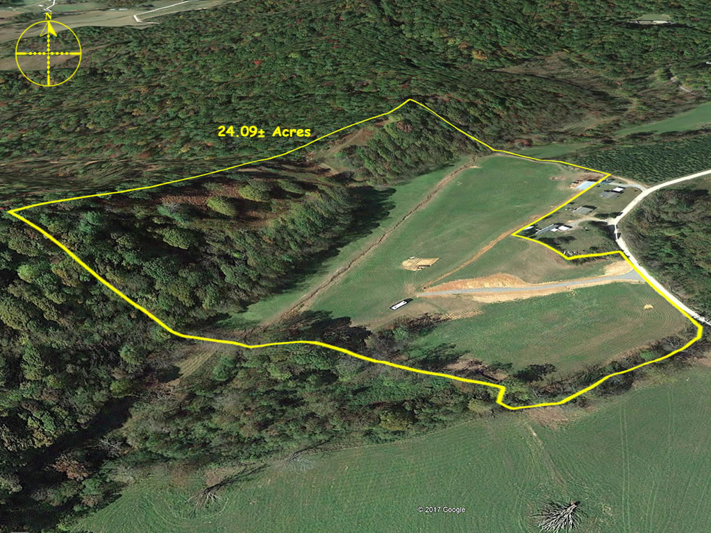 Horse property for sale in Wilkes County NC 24 acres