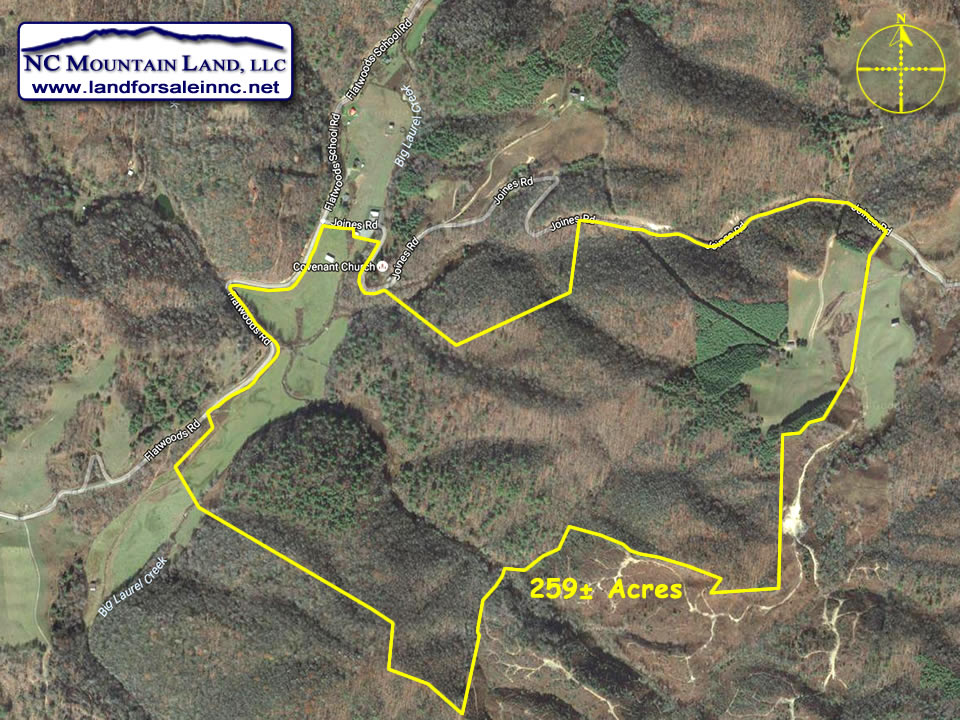 Farm land for sale in Ashe County NC 259 acres