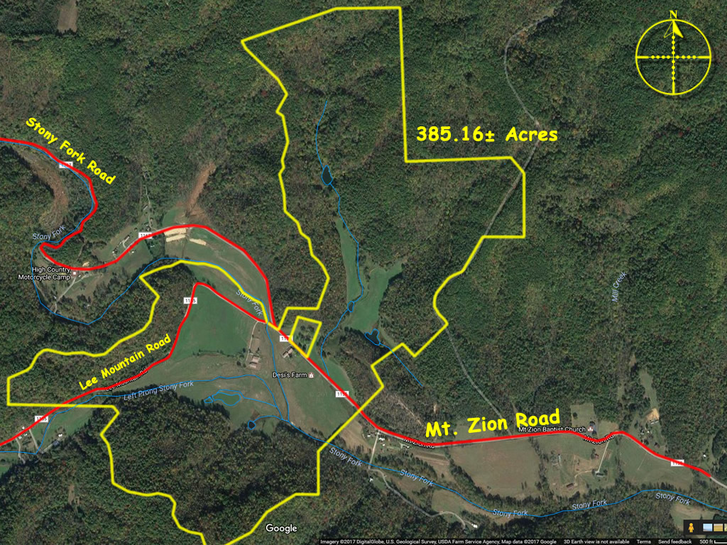 Horse farm for sale in Wilkes County NC 385 acres
