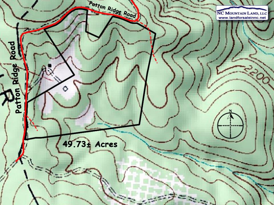 Land for sale on Patton Ridge Road 49 acres