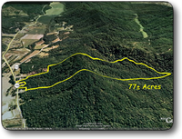 77 Acres For Sale Caldwell County NC