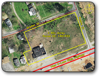 Commercial Lot in North Wilkesboro