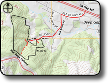 Land for sale in Deep Gap NC