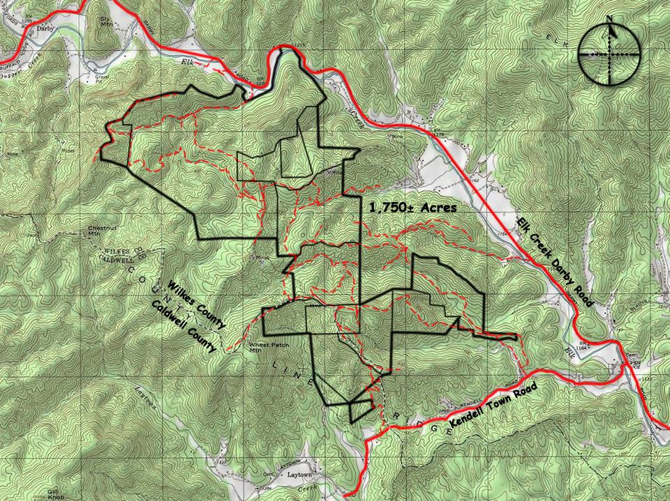 land sale north carolina mountains