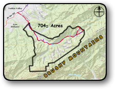 Large tract of land for sale in Caldwell County NC