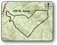 105 Acres for sale in Wilkes NC
