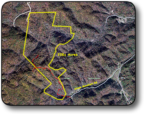 Land for sale in Caldwell County NC