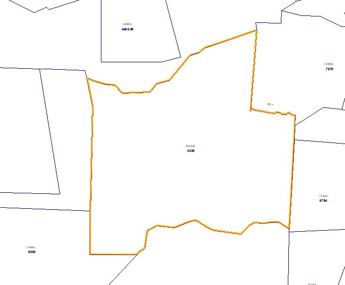 landlocked property for sale 196 acres