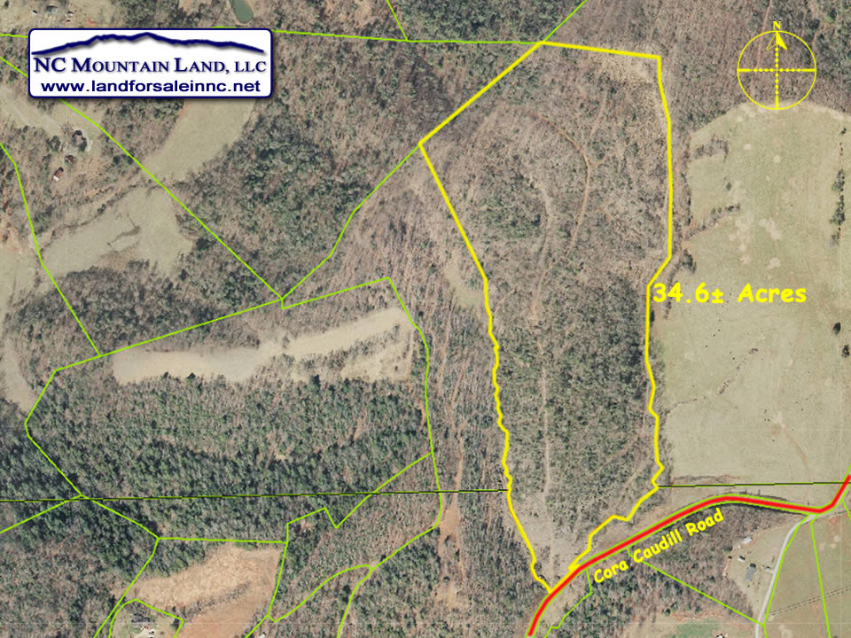 Affordable tract in Wilkes County NC 34 acres