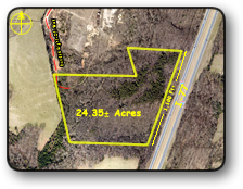 Land for sale in Union Grove NC 24 acres