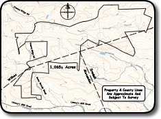 Large tract of land for sale in Brushy Mountains