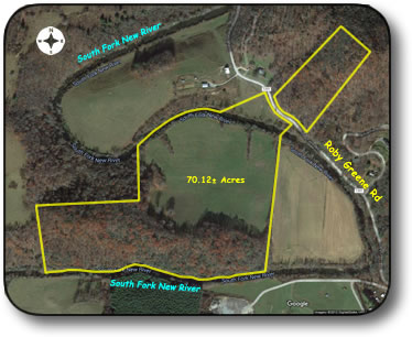Land for sale on South Fork New River