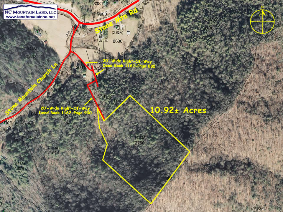 Affordable land for sale in Caldwell County NC