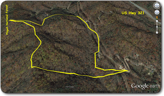 Wooded tract for sale in Caldwell County NC