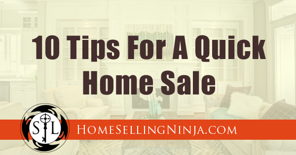 10 Home Selling Tips