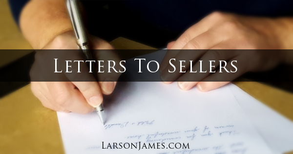 Letters To Home Sellers