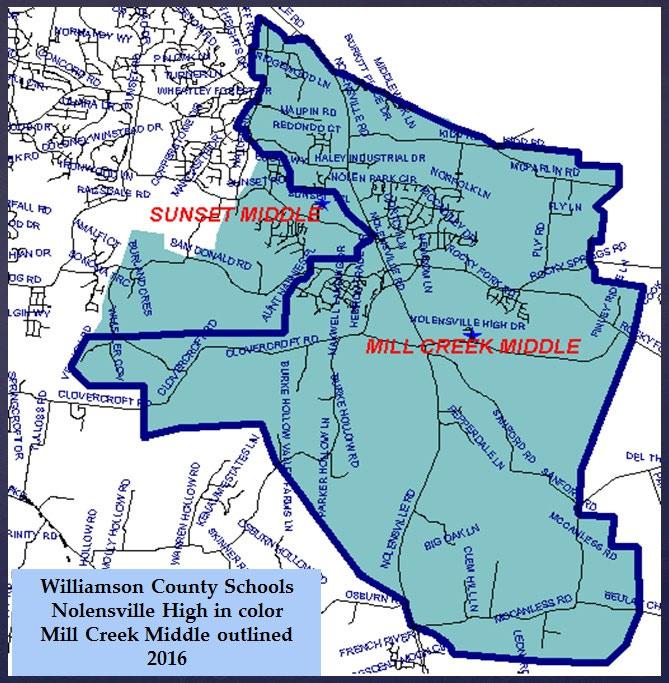Nolensville High School Zoning Proposal