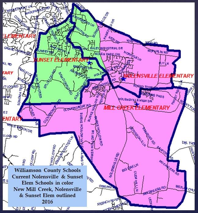 Mill Creek Elementary School Zoning Proposal