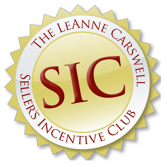 Sellers Incentive Club - Incentive for other agents to sell our listings getting your property increased exposure