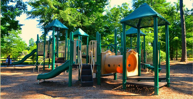 Playground at Heritage Park in Simpsonville, SC