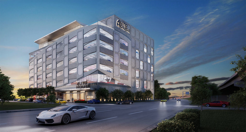 Luxury car condo project in Miami's Overtown launches sales
