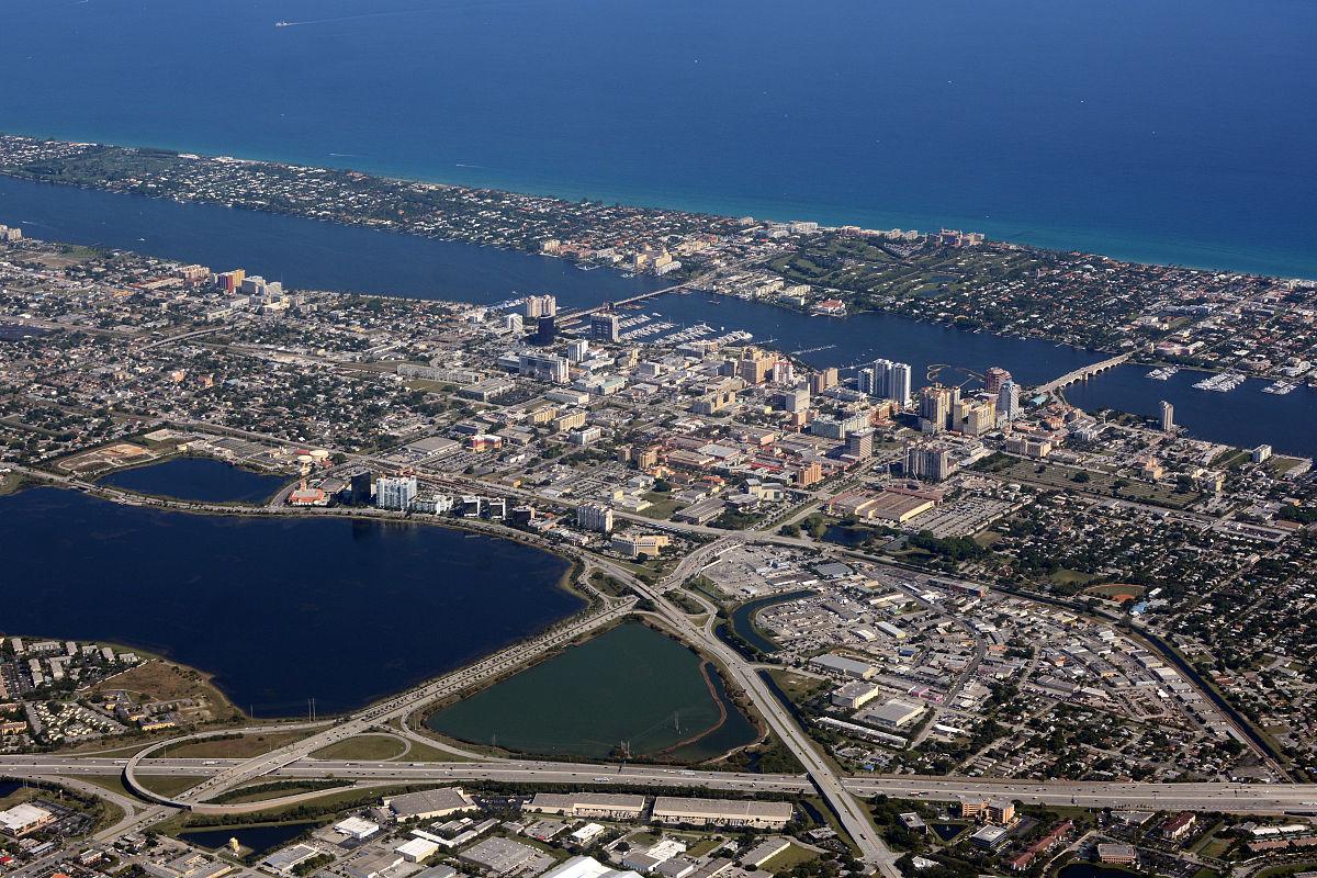 mercado de aluguel em Palm Beach e Broward