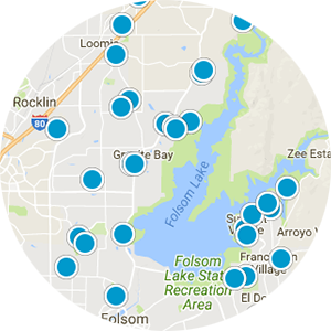 Carmichael Real Estate Map Search