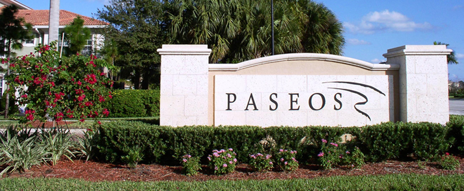 Paseos Single Family Homes For Sale In Jupiter Florida