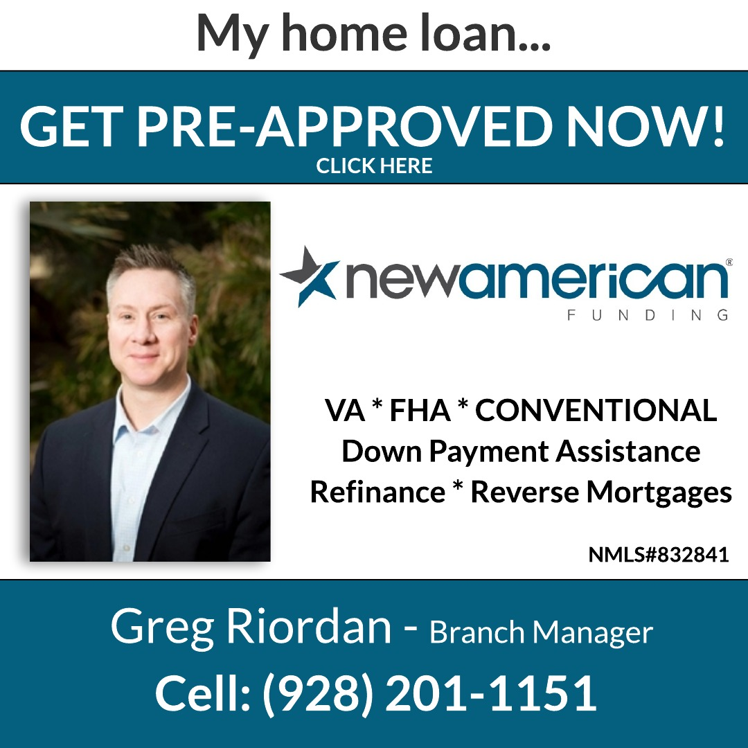 Greg Riordan | New American Funding | Bullhead City, AZ