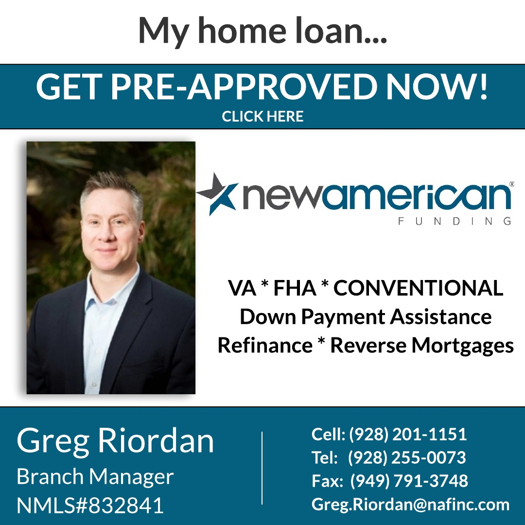 New American Funding | Greg Riordan | Bullhead City, AZ
