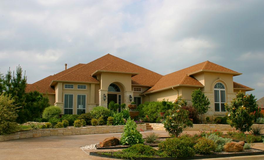 Country Glen homes boast elegant landscaping.