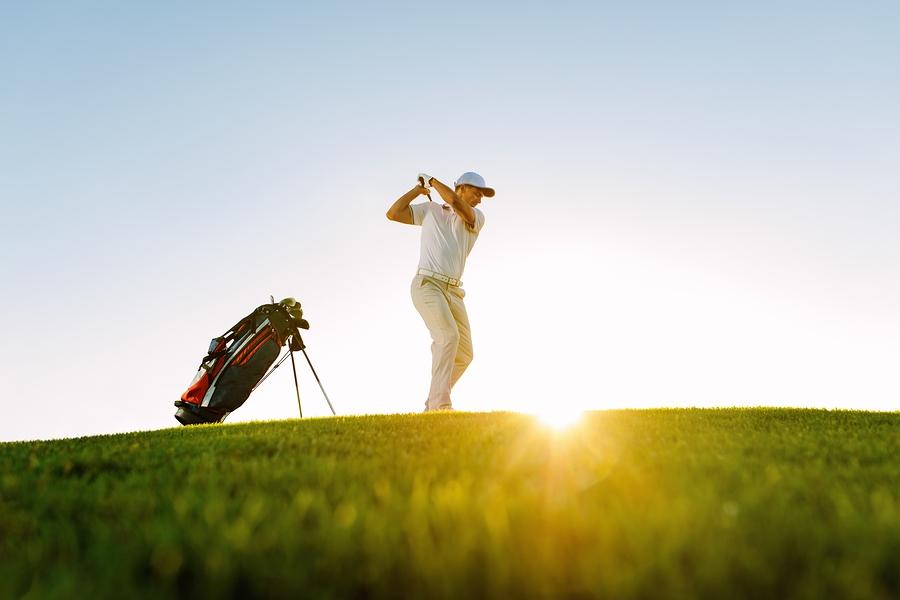 Play golf near Rolling Hills homes.