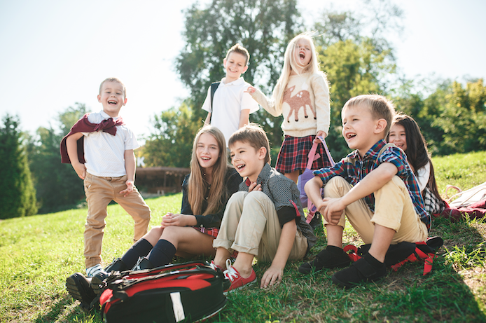 Happy School Kids Davie Florida Levine Team Real Estate