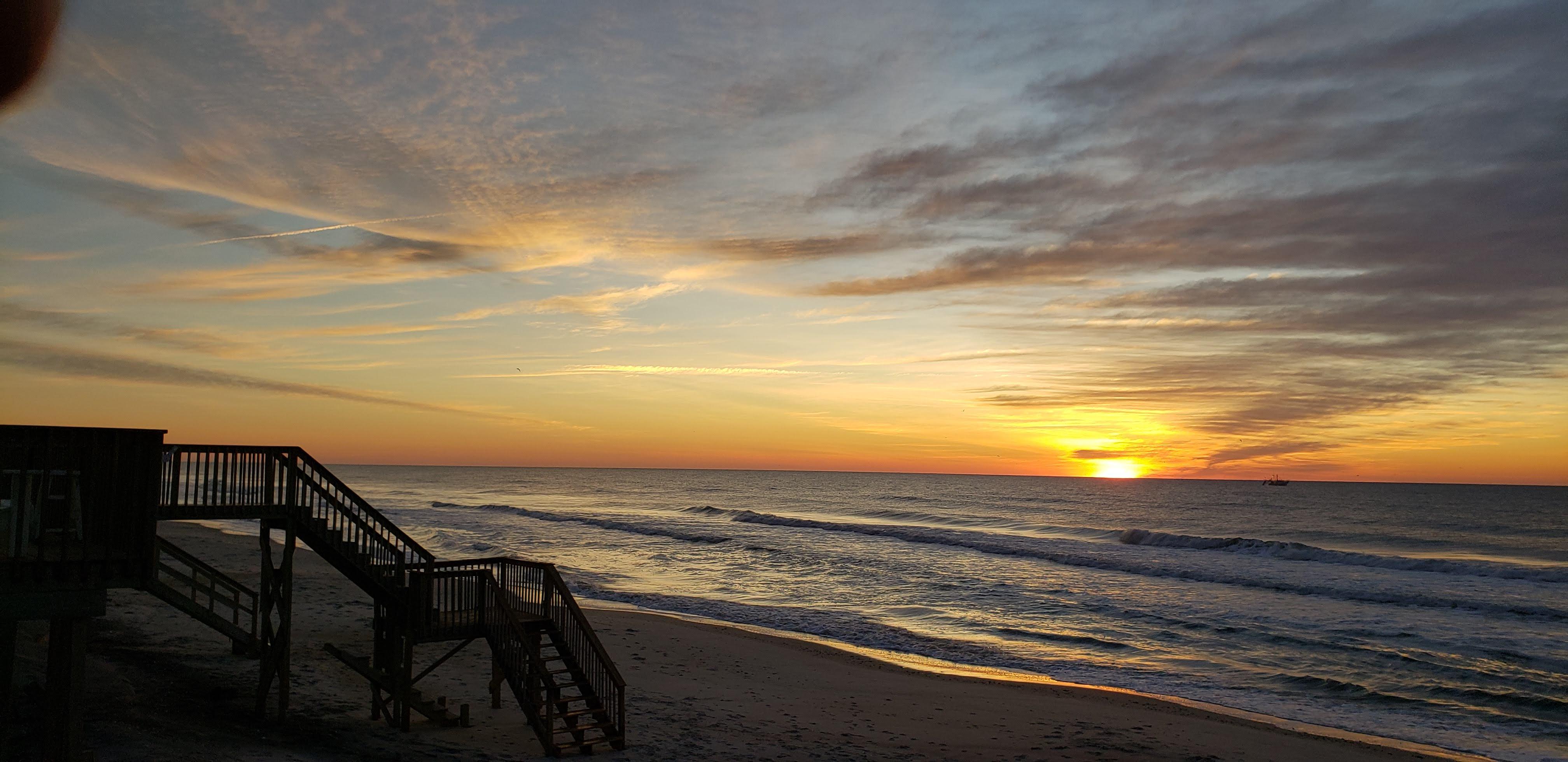 Sunset on Topsail Island, NC