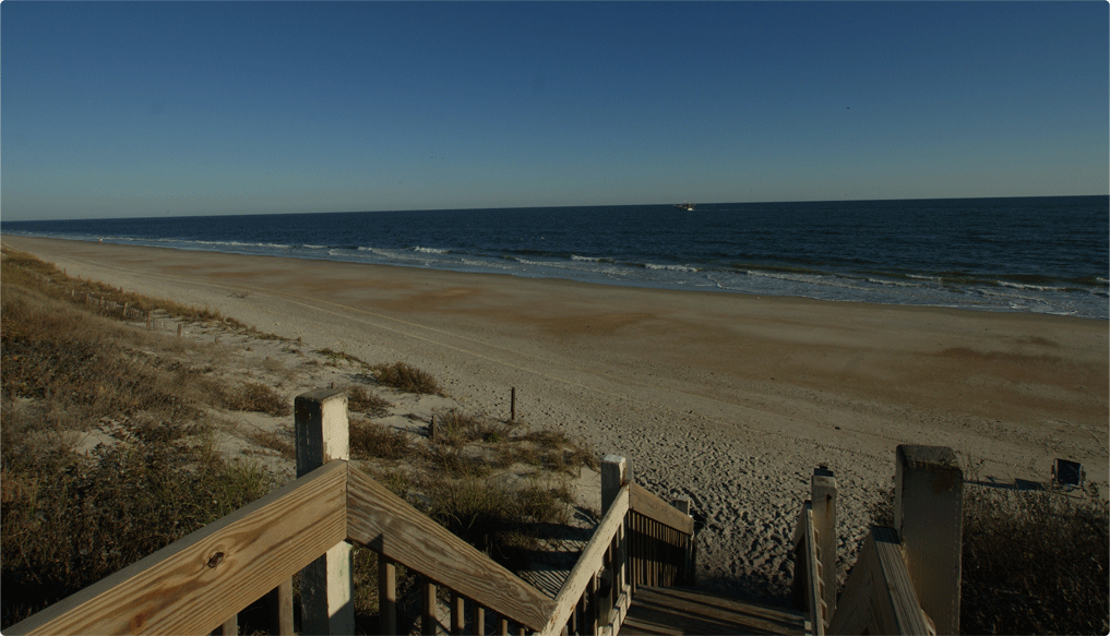 Oceanfront at North Topsail Beach NC