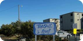 Topsail Reef at North Topsail Beach
