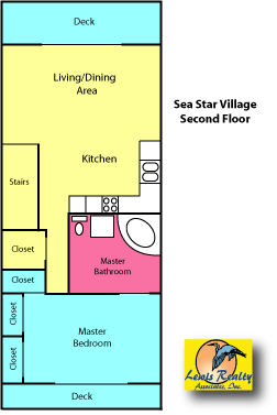 Sea Star Village Floor Plan