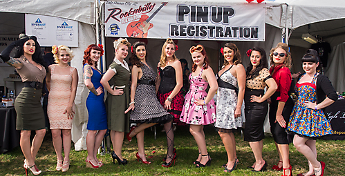 Rockabilly reunion lake havasu pin up contest