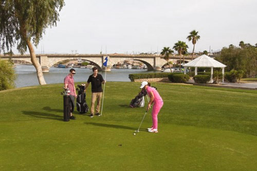 Bridgewater Links Golf course in Lake Havasu