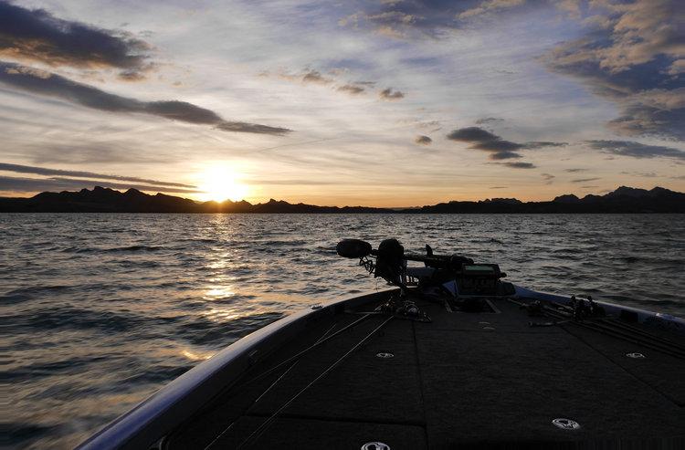 Lake Havasu pro teams fishing