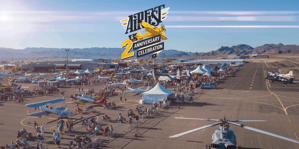Hangar 24 AirFest and 2nd Anniversary Celebration Lake Havasu