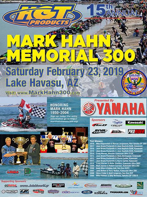 Mark Hahn endurance race ijsba