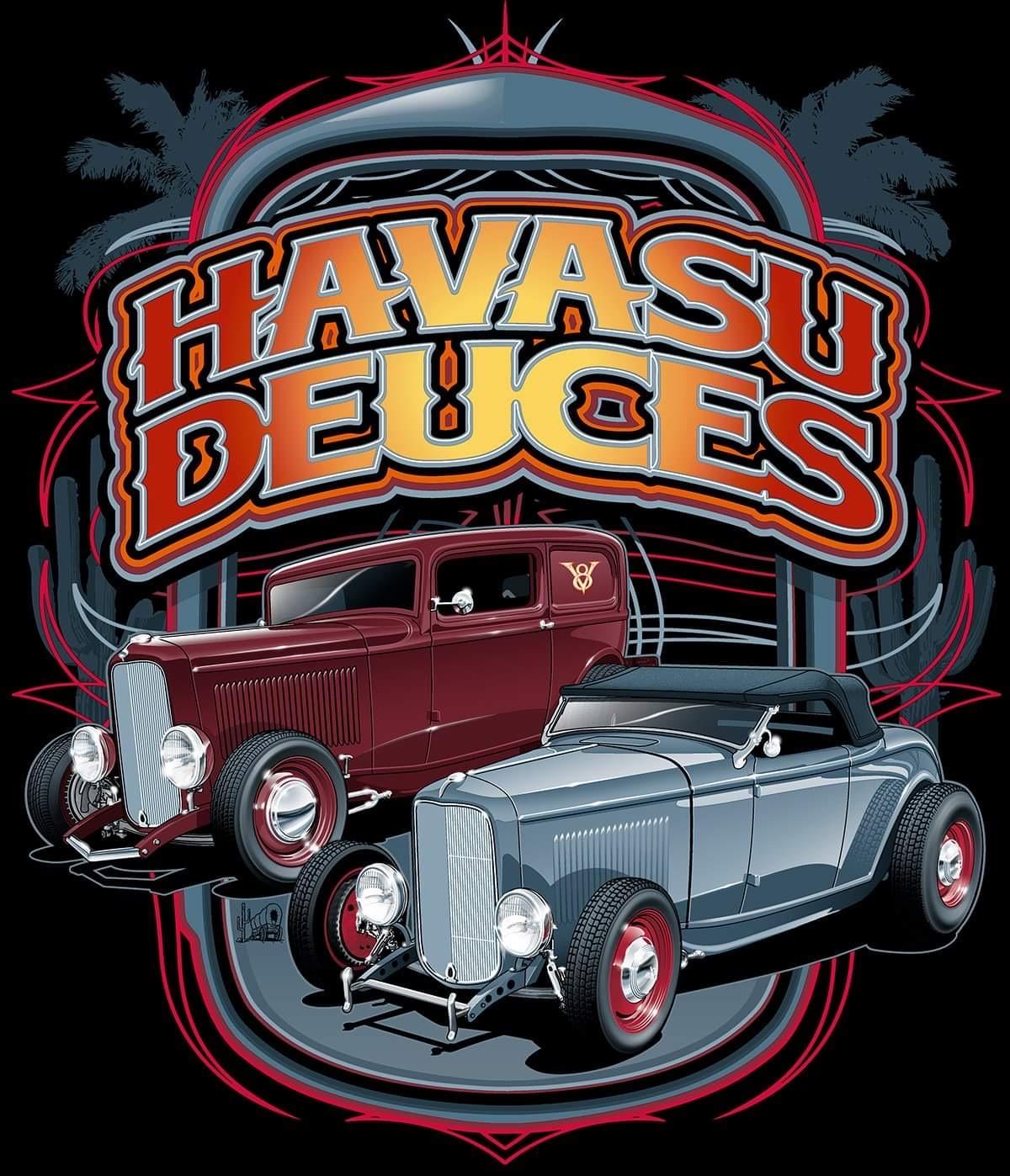 Havasu Deuces car show 2021