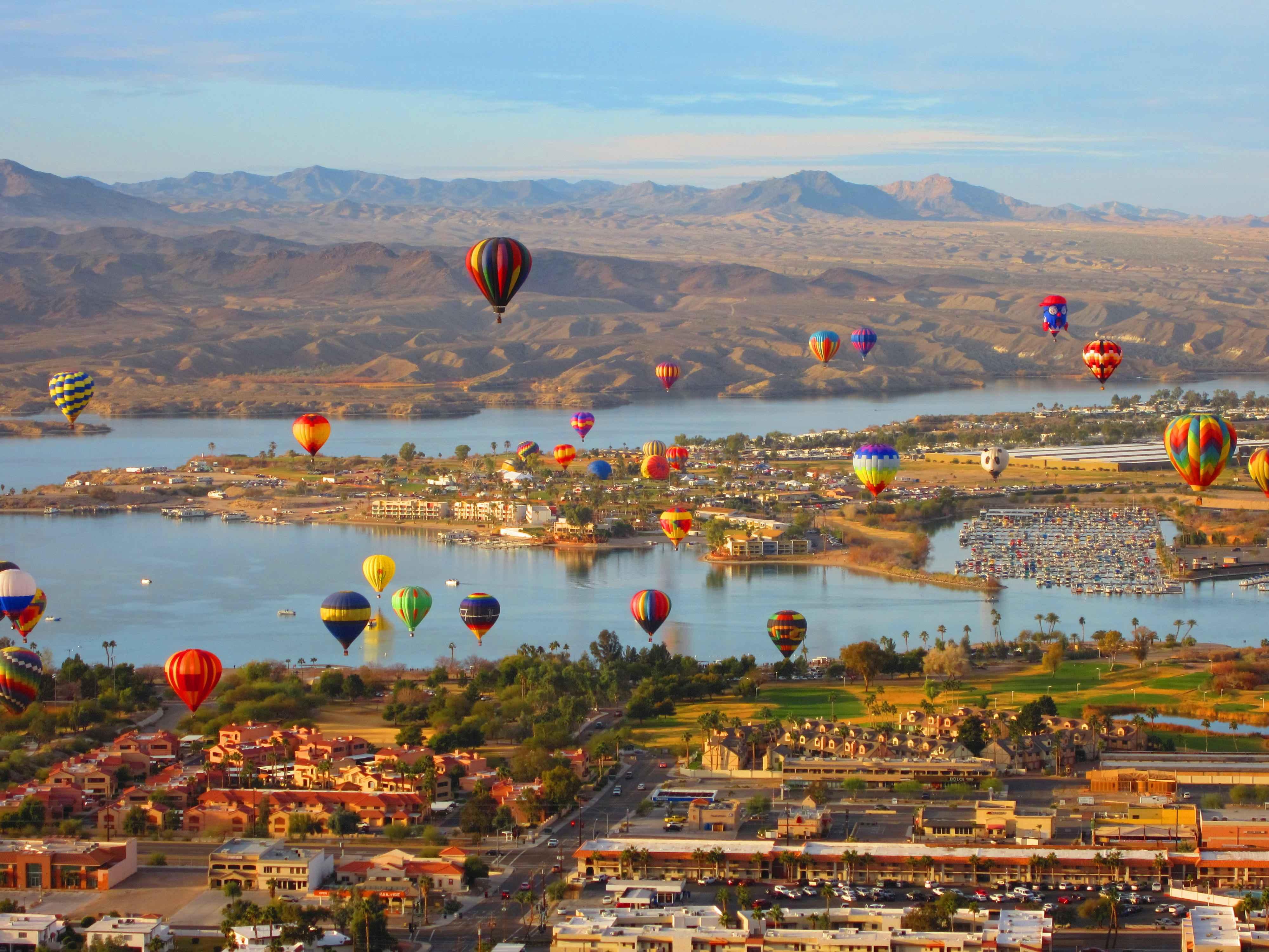 Lake Havasu Balloon Fest 2018